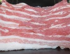 和風ホイコーロー(回鍋肉) 材料豚肉