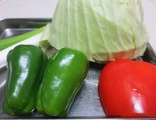 和風ホイコーロー(回鍋肉) 材料野菜