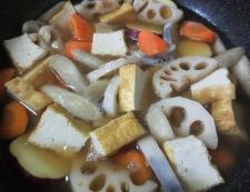 根菜の筑前煮 調理②