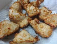 鶏胸肉の唐揚げレタスあんかけ 調理③