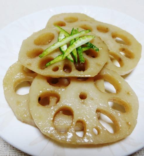 れんこんの柚子胡椒炒め B