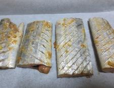 太刀魚の胡麻豆板醤焼き 調理①