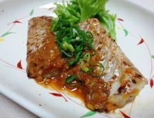 太刀魚の胡麻豆板醤焼き 調理④