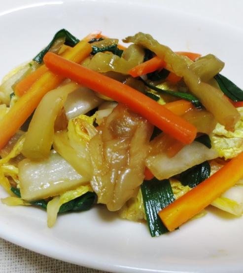 白菜とザーサイ炒め B