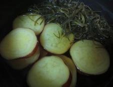 さつまいもと切り昆布の炊いたん 調理②