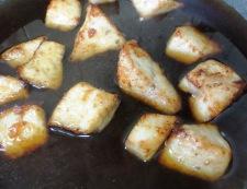 白身魚とうずら卵の甘酢あん 調理④