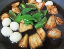 白身魚とうずら卵の甘酢あん 調理⑤