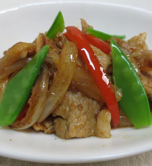 豚肉と玉ねぎの生姜焼き B