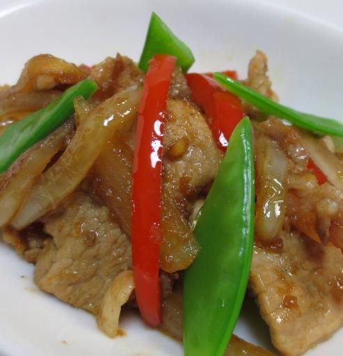 豚肉と玉ねぎの生姜焼き 大