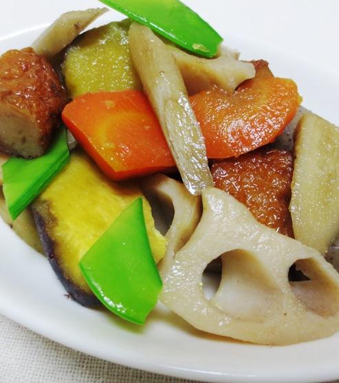 さつまあげと根菜の筑前煮 B