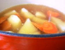 タラのレモンスープ煮 調理②