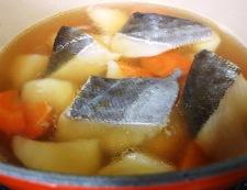 タラのレモンスープ煮 調理③