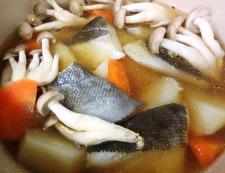 タラのレモンスープ煮 調理④