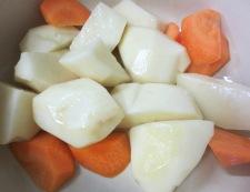 タラのレモンスープ煮 調理①