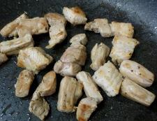 マリネポークと茸のハーブソテー 調理③