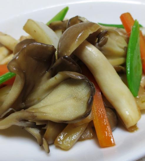 白菜と茸の柚子胡椒ソテー