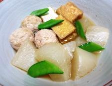 鶏団子と大根の炊いたん 調理④