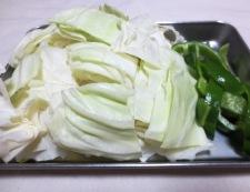 豚肉とキャベツの胡麻味噌炒め 【下準備】②