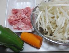 もやしの生姜炒め 材料