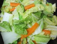 肉団子と白菜のうま煮 調理③
