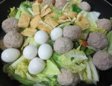 肉団子と白菜のうま煮 調理④
