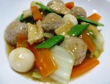 肉団子と白菜のうま煮 調理⑥