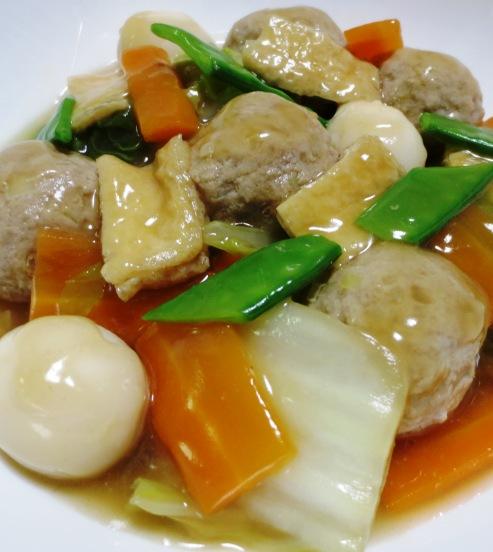 肉団子と白菜のうま煮 大