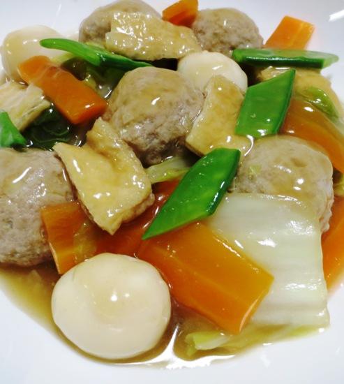 肉団子と白菜のうま煮 B