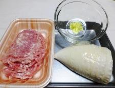 ほうれん草と鶏そぼろの炒め 材料②