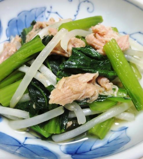 小松菜とツナの煮びたし B