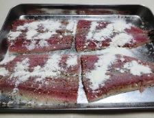 秋刀魚のチーズパン粉焼き 調理③