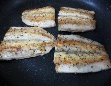 秋刀魚のチーズパン粉焼き 調理④