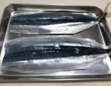 秋刀魚のチーズパン粉焼き 材料