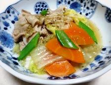 豚バラ白菜ホタテ風味 調理⑥