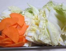 豚バラ白菜ホタテ風味 【下準備】②