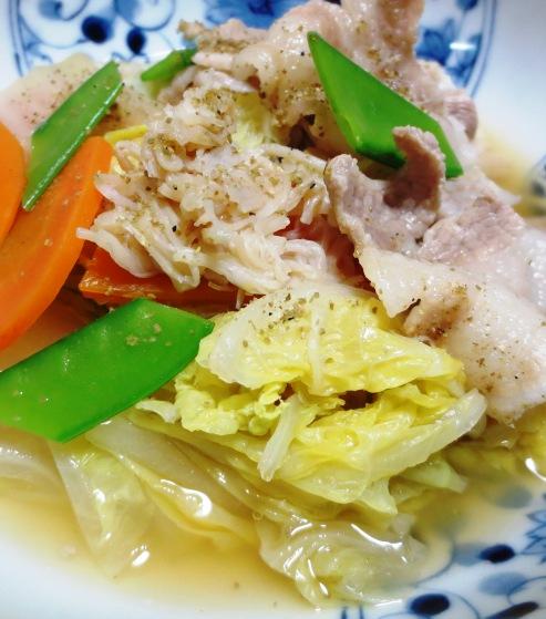 豚バラ白菜ホタテ風味 大