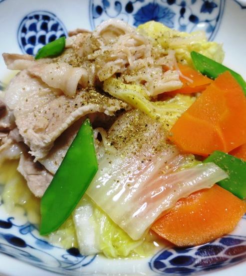 豚バラ白菜ホタテ風味 B