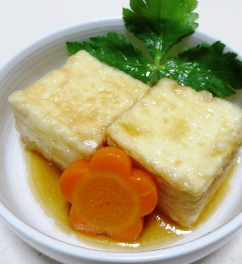 揚げ出し豆腐 大