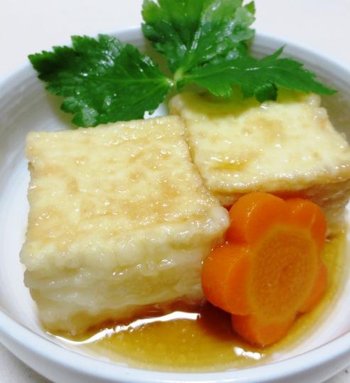 揚げ出し豆腐B