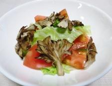 焼き塩さばとトマトのサラダ 調理⑤
