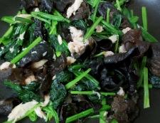 キクラゲとツナの卵炒め 調理⑤