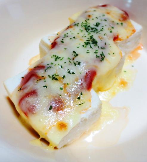 豆腐のチーズ焼き B