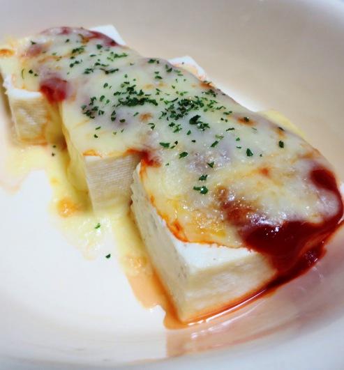 豆腐のチーズ焼き 大