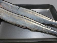 秋刀魚のからし醤油揚げ 材料