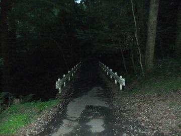 佐白山の橋