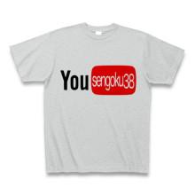 $あなちのブログ-YOU sengoku38 Tシャツ(グレー)