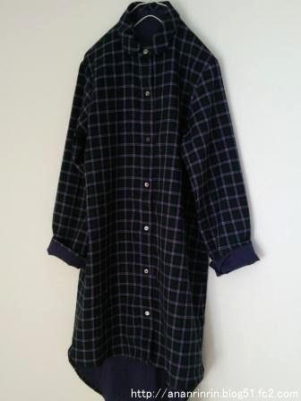チェックシャツ6