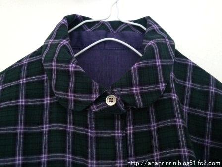 チェックシャツ7
