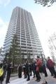 地上35階建てマンション