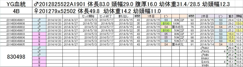 2014-15 2本目交換 4B